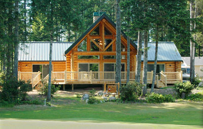 Bw Construction Custom Log Homes